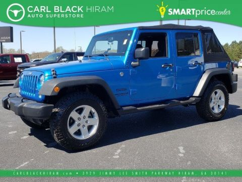 Pre-Owned 2016 Jeep Wrangler Unlimited Unlimited Sport