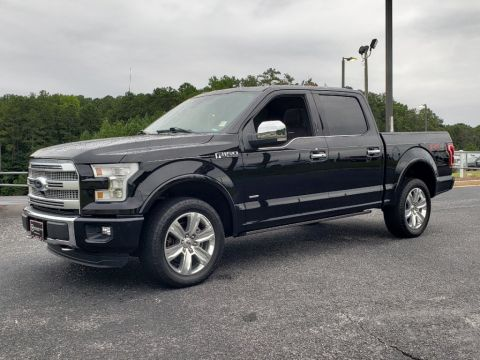 Pre-Owned 2016 Ford F-150 Platinum With Navigation & 4WD