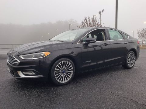 Pre-Owned 2018 Ford Fusion Hybrid Titanium FWD 4dr Car
